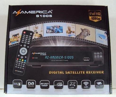 Receptor digital Az-America S1005 HD - LojasParaguai.com.br