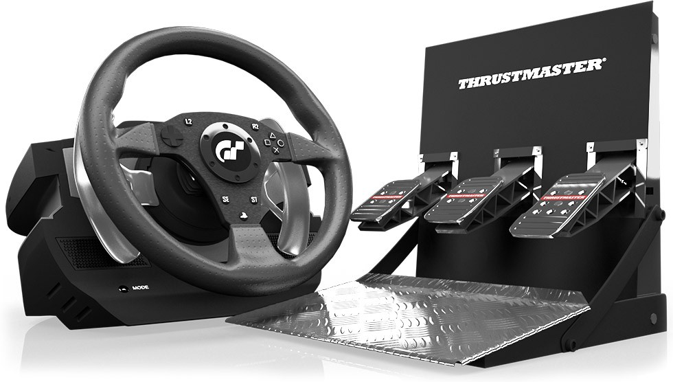 joystick controle thrustmaster t500 rs lojasparaguai. Black Bedroom Furniture Sets. Home Design Ideas