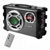 CAIXA DE SOM MOX MO-S12 PORTATIL MALETA BLUETOOTH / USB - PRETO