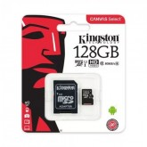 CARTAO DE MEMORIA KINGSTON 128GB C10 80MB/S