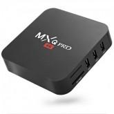 RECEPTOR MXQ PRO TV BOX 4K / 16GB / 2GB RAM - PRETO