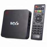 RECEPTOR TV BOX MX9 ANDROID 6.0 4K