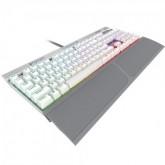 TECLADO CORSAIR K70 RGB SE CH-9109114-NA (US SPEED) - WHITE SILVER