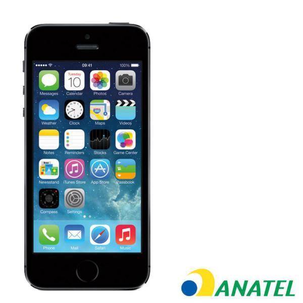 CELULAR APPLE IPHONE 5S 16GB PRETO ANATEL