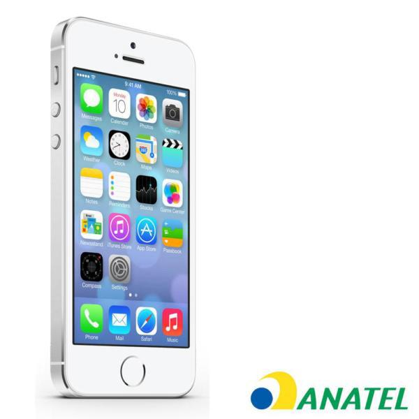 CELULAR APPLE IPHONE 5S 16GB SILVER ANATEL