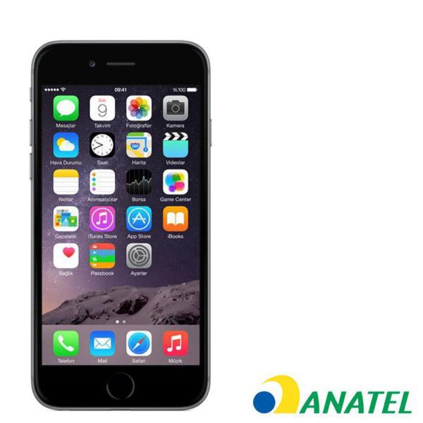 CELULAR APPLE IPHONE 6 16GB PRETO 1549BZ ANATEL
