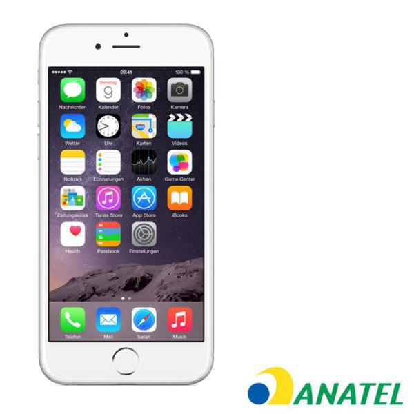 CELULAR APPLE IPHONE 6 16GB SILVER 1549BZ ANATEL