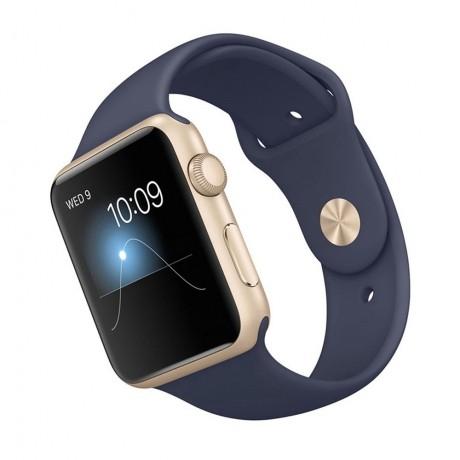 5158db5f059 Relogio Apple Watch Sport 42mm Mlc72ll a Gold na Atacado Games ...