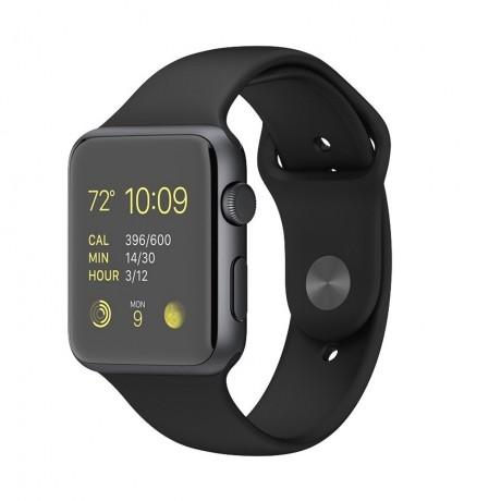50835d25a69 Relogio Apple Watch Sport 42mm Mmfr2ll a Preto na Atacado Games ...