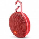 Caixa de Som JBL CLIP3 WIRELLES Bluetooth Vermelho
