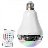 Caixa de Som Lampada LED MOX MO-LB100 Bluetooth