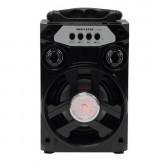 Caixa de Som Megastar HY-05BTN Bluetooth/USB Bateria 800 Mah - Preto