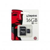 Cartão de Memória Kingston Micro SD 16GB 80MB SDC10