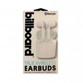 Fone de Ouvido Billboard 1845 EARBUDS TRUE WIRELESS Bluetooth Branco