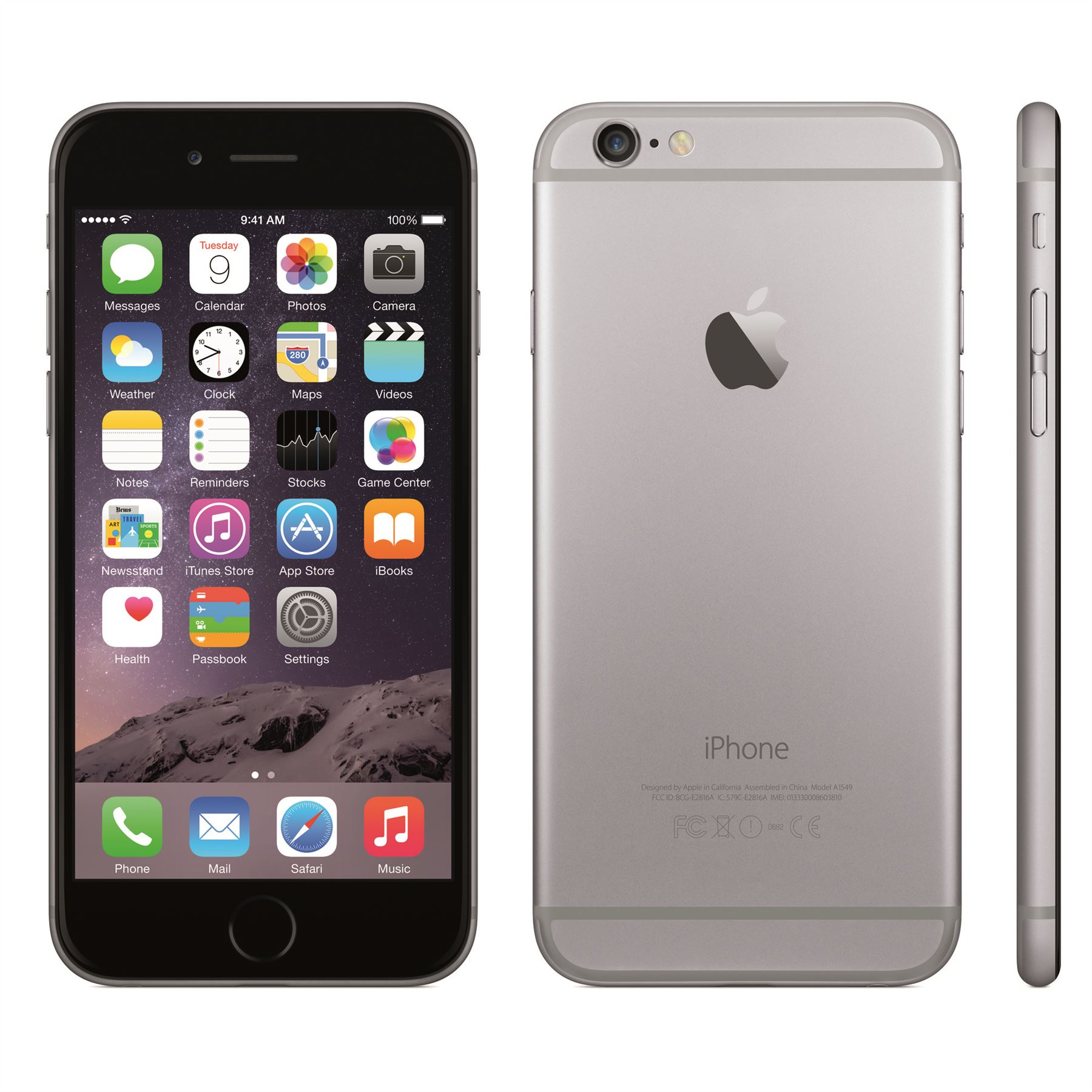 Celular Smartphone Apple iPhone 6 16GB Cinza (1549) (Recon)
