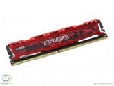 MEMORIA DDR4 8GB 2400M CRUCIAL BALLISTIX RED