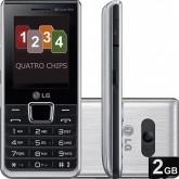 Celular LG A-395 (prata)
