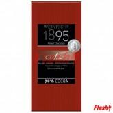 BARRA CHOCOLATE WEINRICH 1895 NOIR 70% CACAO 100G