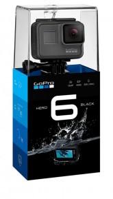Camera de Acao GoPro Hero 6 Black - CHDHS-601 - Preto