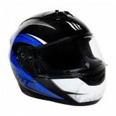 Capacete MT Helmets Alamo Evo Dream C2 - Fechado - Azul - XXL