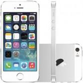 Celular Apple Iphone 5S 16GB - 4 Polegadas - 16GB - 4G LTE - Prata