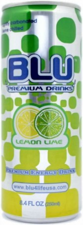 Energetico Blu Premium Drinks Lemon Lime - 250 ML
