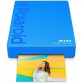 Impressora de Fotos PortA¡til Polaroid Mint Pocket Printer POLMP02BL - Azul