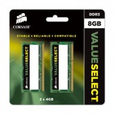 Memoria Corsair Kit 2x4GB para Notebook - 8GB 1333Mhz DDR3