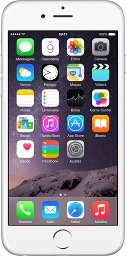 Celular Apple IPhone 6 - 4.7 Polegadas - 16GB - 4G LTE - Prata