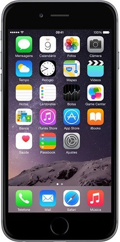 Celular Apple IPhone 6 - 4.7 Polegadas - 32GB - 4G LTE - Cinza
