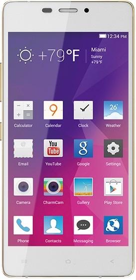 Celular Blu Vivo Air D-980L - 4.8 Polegadas - Single-Sim - 16GB - 3G - Branco e Dourado