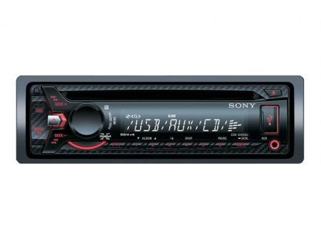 TOCA CD P/CARRO SONY CDX-G1050U C/CONTRO