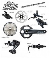 GRUPO SHIMANO M7100 SLX DISC 1X12 2020