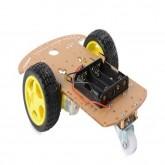 Arduino - Chassis para carro 3 rodas MDF