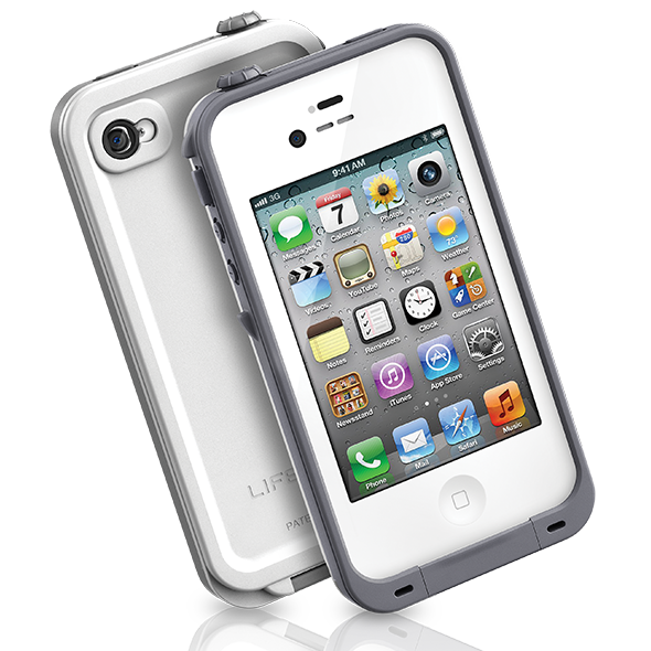 Capa case iwill a prova dgua para iphone 4 4s branco na nparts capa case iwill a prova dgua para iphone 4 4s branco thecheapjerseys Images