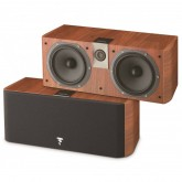 Caixa de Som Central Focal Integration Chrous CC700 walnut VYL UND