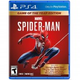Jogo Playstation 4 Spider-Man Game Of The Year Edition