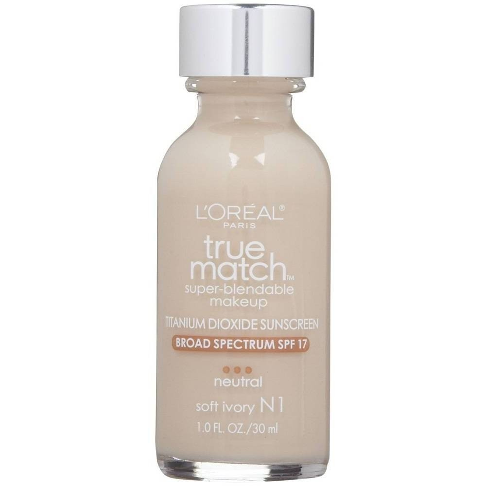 Base Loreal True Match N1 Soft Ivory