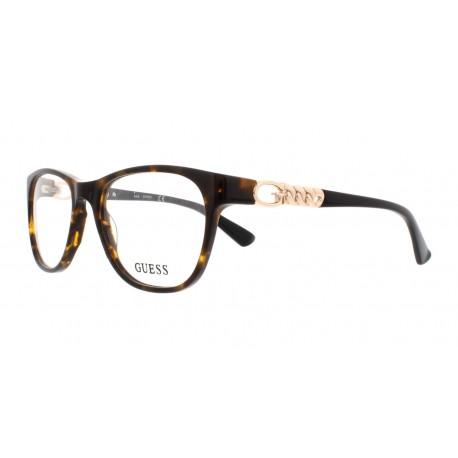 Óculos De Grau Guess Gu2559 052 52 Marrom na SAX código 2731261 ... 2483c57c8e