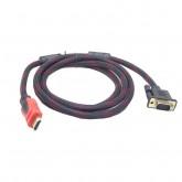 CABO HDMI X VGA - 1.8 METROS - MABOX