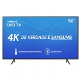 TV SAMSUNG LED 58RU7100 - ULTRA HD - BLUETOOTH - SMART - 58 POLEGADAS
