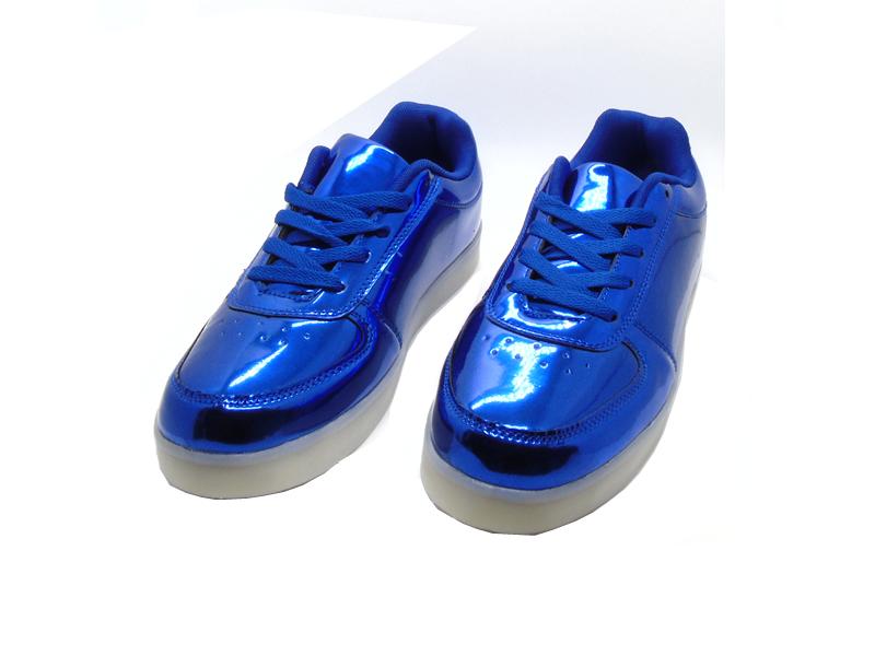 bd8b3333bd5 Tenis Led Numero 37 - Txl-227 - Azul Metalico na Tche Loco código ...