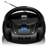 Aparelho de Som Quanta QTRPB431 MP3 com Bluetooth + Radio FM Bivolt - Preto