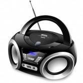 Aparelho de Som Quanta QTRPB438 MP3/CD-R/CD-RW com Rádio FM Bivolt - Preto