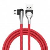 Cabo Gamer USB Tipo C Baseus MVP 2M 5V/2A - Vermelho