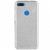 Capa 4Life Glitter para Xiaomi Mi 8 Lite Material TPU/PC - Prata
