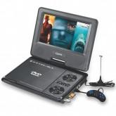 DVD Portátil Quanta QTPDVD100 Tela de 7