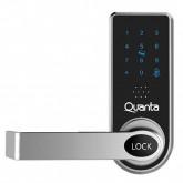 Fechadura Eletrônica para Porta Quanta QTFDT100 - Preto e Prata