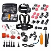 Kit de Acessórios Quanta QTSCA601 para Câmeras de Ação Esportivas Quanta QTSCA601