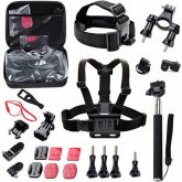 Kit de Acessórios Quanta QTSCA602 para Câmeras de Ação Esportiva